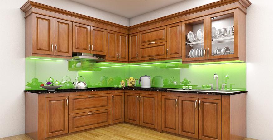 Báo giá tủ bếp gỗ chi phí hấp dẫn, chất lượng bền bỉ