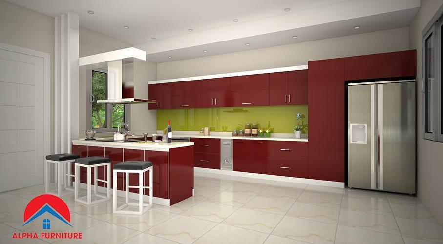 Giải mã sức hút của sản phẩm tủ bếp acrylic nội thất Alpha