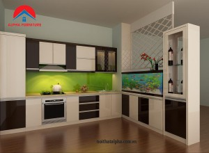 Tủ Bếp MDF MS2