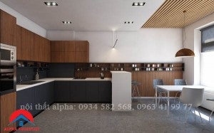 tủ bếp liminate alpha 01