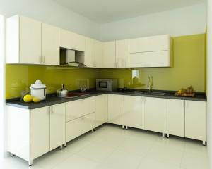 Tủ bếp laminate AP001