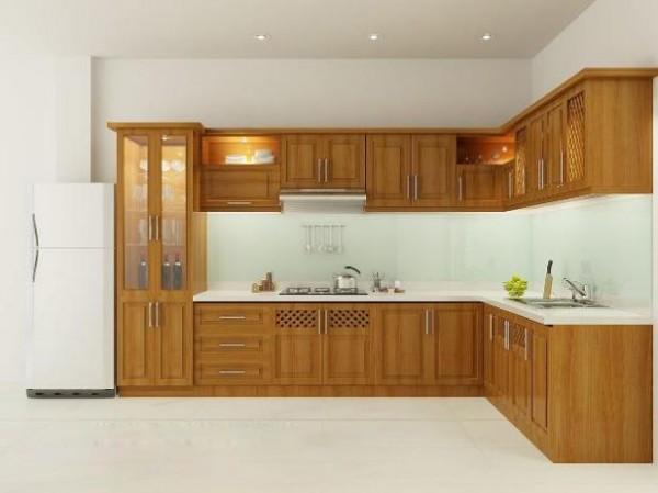 Tủ bếp nhà phố