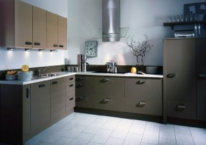 tủ bếp laminate alpha