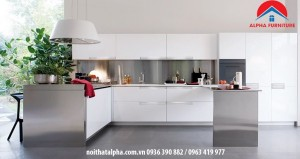 Tủ bếp Aclylic 023