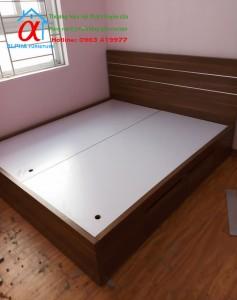Giường Melamin 003