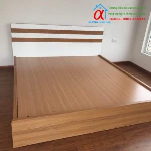 Giường Melamin 008