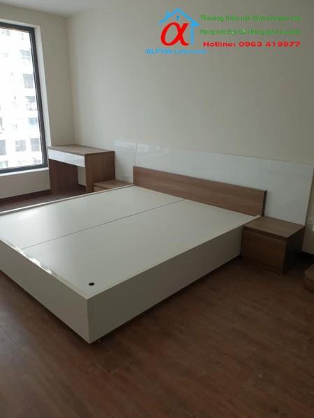 Giường Melamin 009