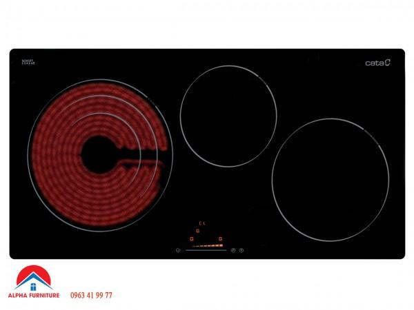 Bếp điện từ Cata IT 773 1 hồng ngoại 2 từ