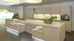 Những ưu điểm vượt trội của tủ bếp Melamine