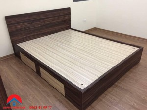 giường laminate mã 05