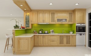 Tủ bếp gỗ tần bì có chất lượng như thế nào?