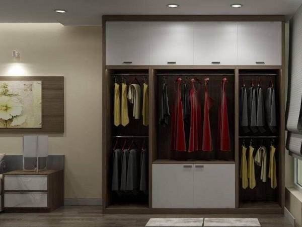 Những điều nên biết về tủ áo gỗ công nghiệp