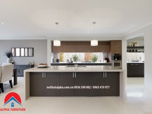 tủ bếp laminate alpha LMN025
