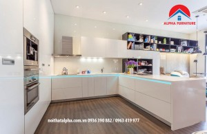 Tủ bếp Aclylic 024