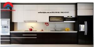 Tủ Bếp Gỗ Veneer MS02