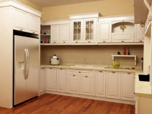 Tủ Bếp Gỗ Sồi Mỹ MS20