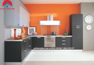 tủ bếp laminate alpha 024