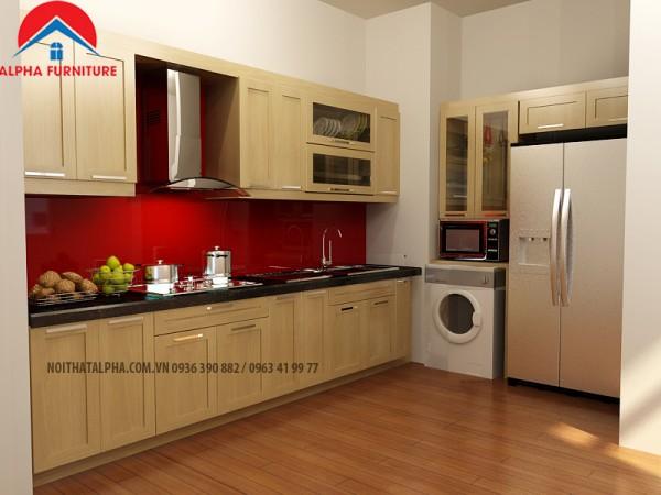 Tủ Bếp Gỗ Sôi Nga MS20